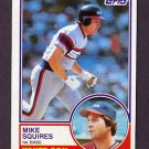 1983 Topps Baseball #669 Mike Squires - Chicago White Sox