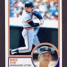 1983 Topps Baseball #613 Mike Ivie - Detroit Tigers