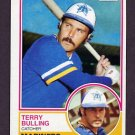 1983 Topps Baseball #519 Terry Bulling - Seattle Mariners
