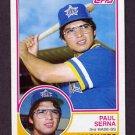 1983 Topps Baseball #492 Paul Serna - Seattle Mariners