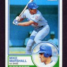 1983 Topps Baseball #324 Mike Marshall - Los Angeles Dodgers