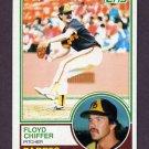 1983 Topps Baseball #298 Floyd Chiffer - San Diego Padres
