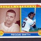 1983 Topps Baseball #283 Reggie Smith SV - San Francisco Giants