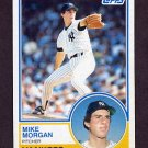 1983 Topps Baseball #203 Mike Morgan - New York Yankees