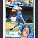 1983 Topps Baseball #088 Jim Gantner - Milwaukee Brewers