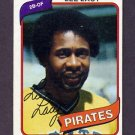 1980 Topps Baseball #536 Lee Lacy - Pittsburgh Pirates Vg