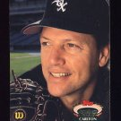 1992 Stadium Club Baseball #480 Carlton Fisk - Chicago White Sox