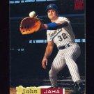 1994 Stadium Club Baseball #105 John Jaha - Milwaukee Brewers