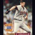 1994 Stadium Club Baseball #086 John O'Donoghue - Baltimore Orioles