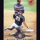 1995 Stadium Club Baseball #593 Mark McLemore - Texas Rangers