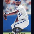 1995 Stadium Club Baseball #455 Tom Gordon - Kansas City Royals