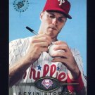 1995 Stadium Club Baseball #346 Kevin Stocker - Philadelphia Phillies