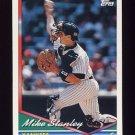 1994 Topps Baseball #695 Mike Stanley - New York Yankees