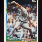 1994 Topps Baseball #623 Rafael Novoa - Milwaukee Brewers