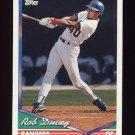 1994 Topps Baseball #618 Rob Ducey - Texas Rangers