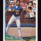 1994 Topps Baseball #367 Ricky Bones - Milwaukee Brewers