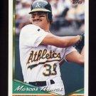 1994 Topps Baseball #311 Marcos Armas - Oakland A's