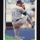 1994 Topps Baseball #288 Craig Lefferts - Texas Rangers