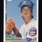 1994 Topps Baseball #244 Rick Wilkins - Chicago Cubs