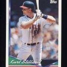 1994 Topps Baseball #198 Kurt Stillwell - California Angels