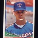 1994 Topps Baseball #193 Steve Dreyer RC - Texas Rangers