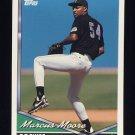 1994 Topps Baseball #186 Marcus Moore - Colorado Rockies