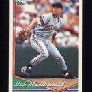 1994 Topps Baseball #162 Bob MacDonald - Detroit Tigers