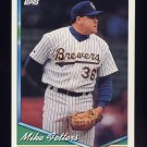 1994 Topps Baseball #159 Mike Fetters - Milwaukee Brewers
