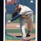 1994 Topps Baseball #125 Greg Swindell - Houston Astros