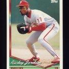 1994 Topps Baseball #086 Ricky Jordan - Philadelphia Phillies