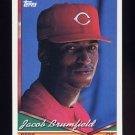 1994 Topps Baseball #069 Jacob Brumfield - Cincinnati Reds
