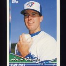 1994 Topps Baseball #039 Huck Flener RC - Toronto Blue Jays