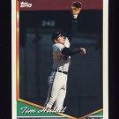 1994 Topps Baseball #032 Tim Hulett - Baltimore Orioles
