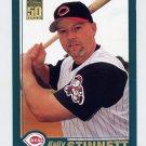 2001 Topps Baseball #644 Kelly Stinnett - Cincinnati Reds