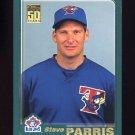 2001 Topps Baseball #634 Steve Parris - Toronto Blue Jays