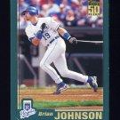 2001 Topps Baseball #554 Brian Johnson - Kansas City Royals