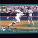 2001 Topps Baseball #551 Wiki Gonzalez - San Diego Padres