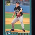 2001 Topps Baseball #547 Ryan Rupe - Tampa Bay Devil Rays