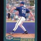 2001 Topps Baseball #467 Jimmy Haynes - Milwaukee Brewers