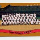 2002 Topps Baseball #648 Cincinnati Reds TC