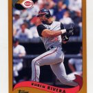 2002 Topps Baseball #116 Ruben Rivera - Cincinnati Reds