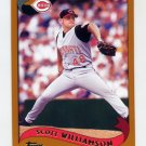 2002 Topps Baseball #103 Scott Williamson - Cincinnati Reds