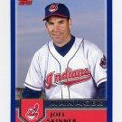 2003 Topps Baseball #269 Joel Skinner MG - Cleveland Indians