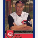 2003 Topps Baseball #268 Bob Boone MG - Cincinnati Reds