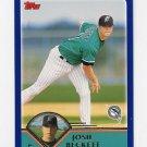 2003 Topps Baseball #249 Josh Beckett - Florida Marlins