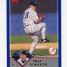 2003 Topps Baseball #153 Mike Stanton - New York Yankees