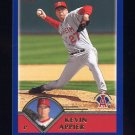 2003 Topps Baseball #041 Kevin Appier - Anaheim Angels