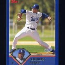 2003 Topps Baseball #024 Odalis Perez - Los Angeles Dodgers