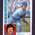 1984 Topps Baseball #772 Jim Slaton - Milwaukee Brewers