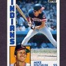 1984 Topps Baseball #689 Mike Fischlin - Cleveland Indians